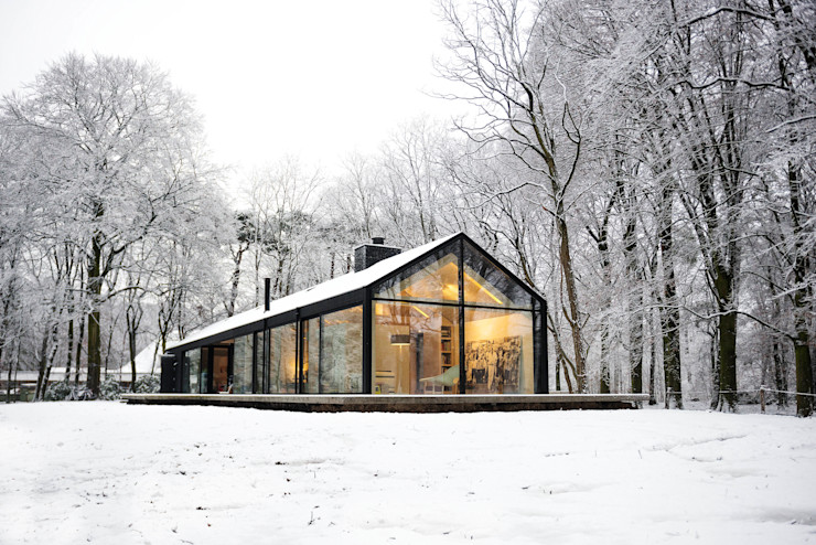 Bedaux de Brouwer Architecten Scandinavian style houses
