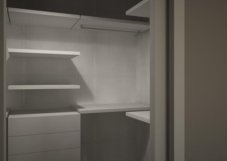 Cabina armadio CT home Camera da letto moderna