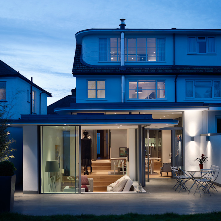 Rear elevation 3s architects and designers ltd