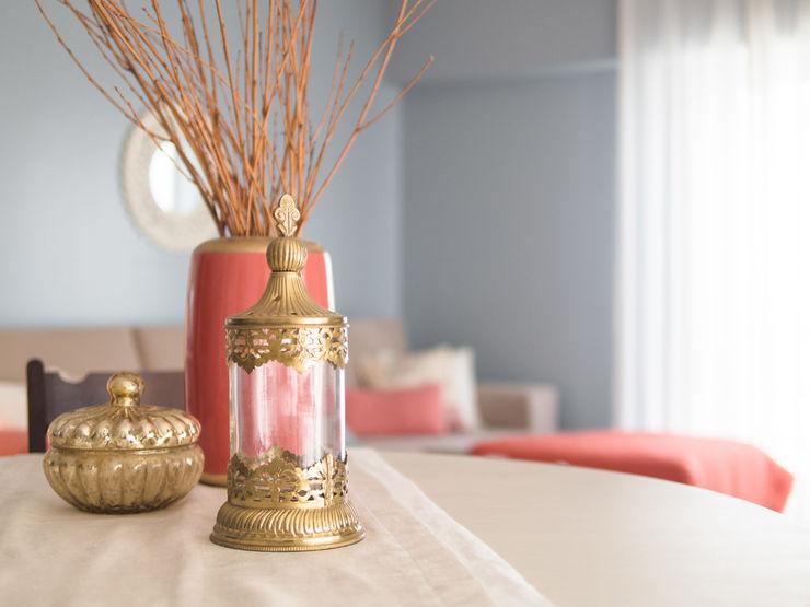 Apartamento em Sintra MUDA Home Design Salas de jantar modernas
