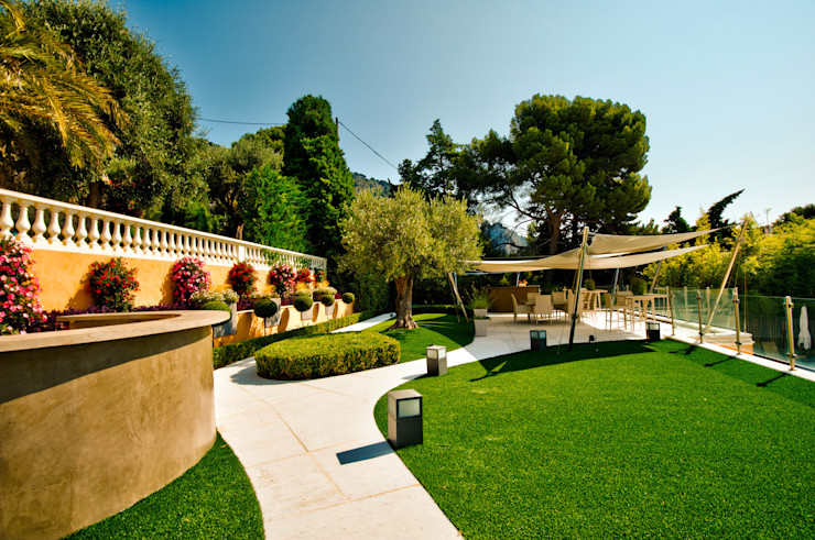 La brigantine David Violi Jardin moderne