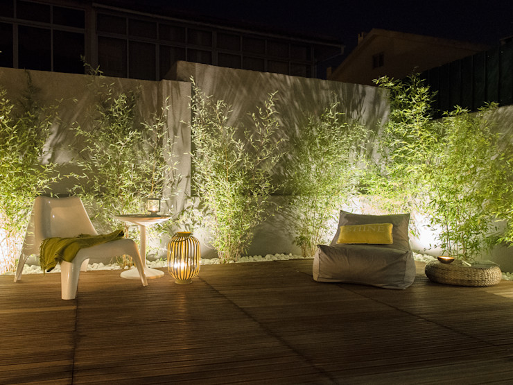 MUDA Home Design Rustic style garden