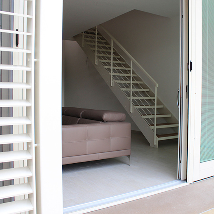 Dittongo architetti モダンな 窓&ドア