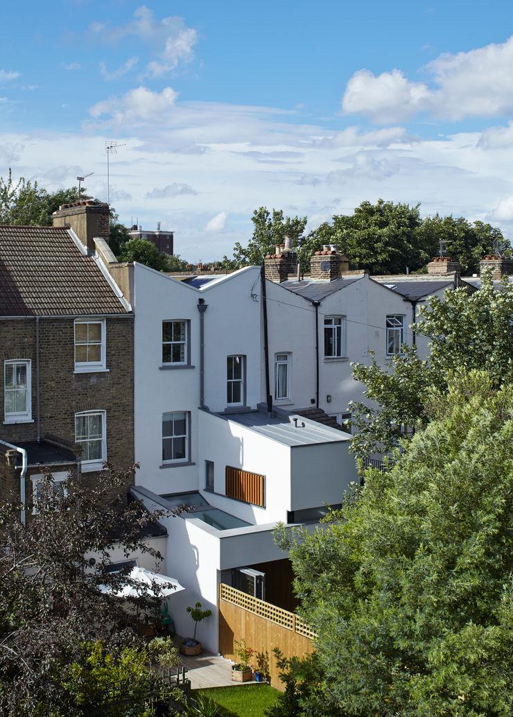 Rear view of the Islington House Neil Dusheiko Architects Terrace house