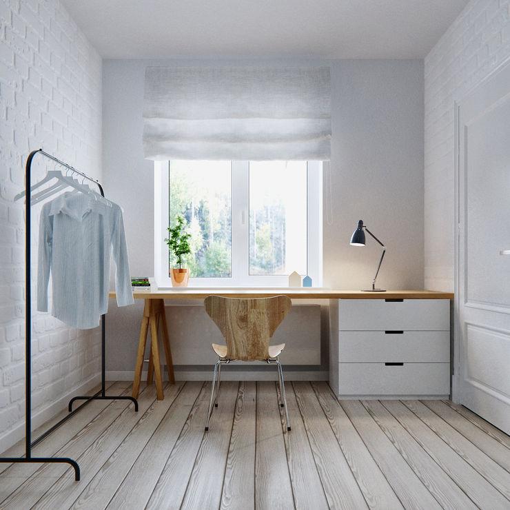 INT2architecture Scandinavian style bedroom