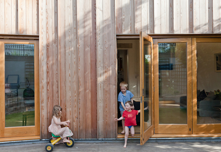 Rear Elevation Neil Dusheiko Architects Modern houses