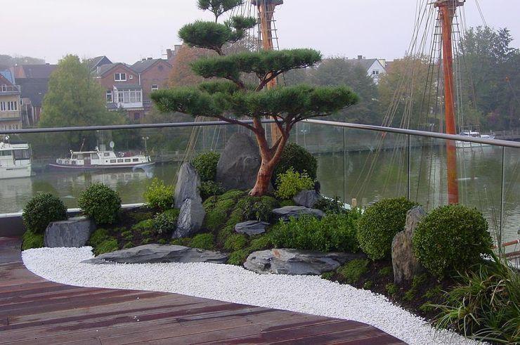 Zengarten auf Dachterrasse japan-garten-kultur Asiatischer Garten