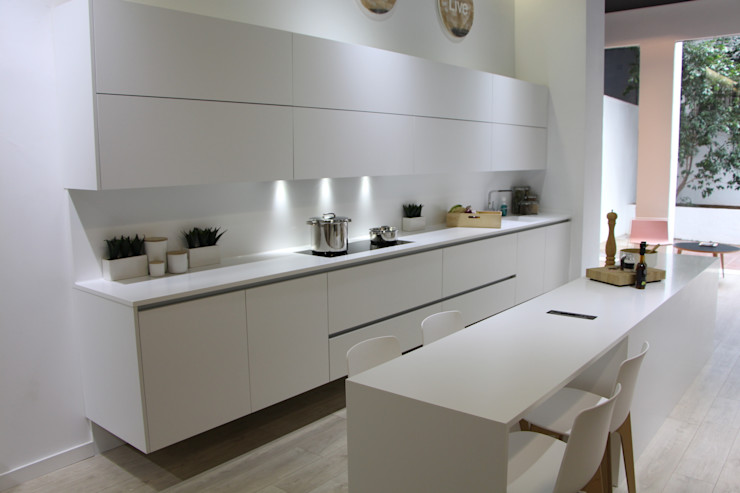 XEY Corporación Empresarial 現代廚房設計點子、靈感&圖片