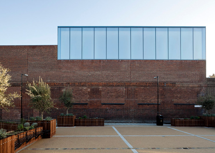 Anish Kapoor Studio Caseyfierro Architects Modern houses