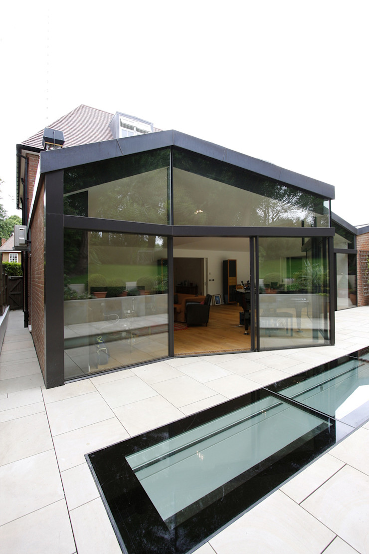 North London House Extension Caseyfierro Architects Modern houses