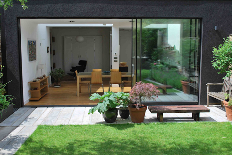Suburban House Extension North London Caseyfierro Architects Modern windows & doors
