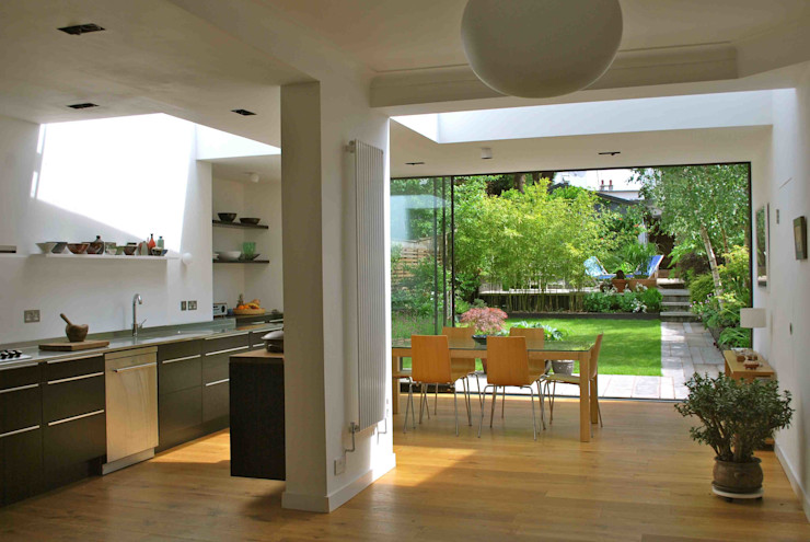 Suburban House Extension North London Caseyfierro Architects Scandinavian style kitchen