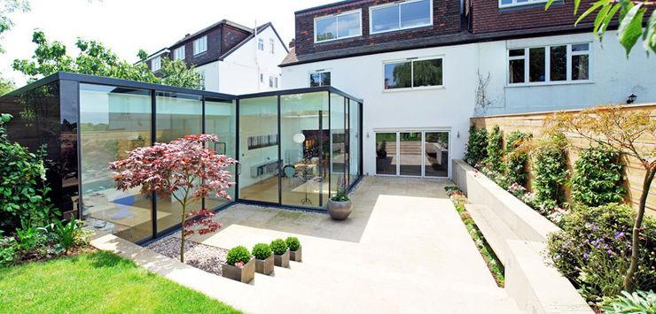 FAMILY HOUSE Extension Caseyfierro Architects Modern Garden
