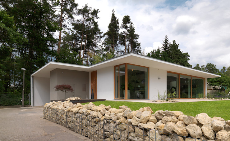 Bermüller + Hauner Architekturwerkstatt Rumah Minimalis