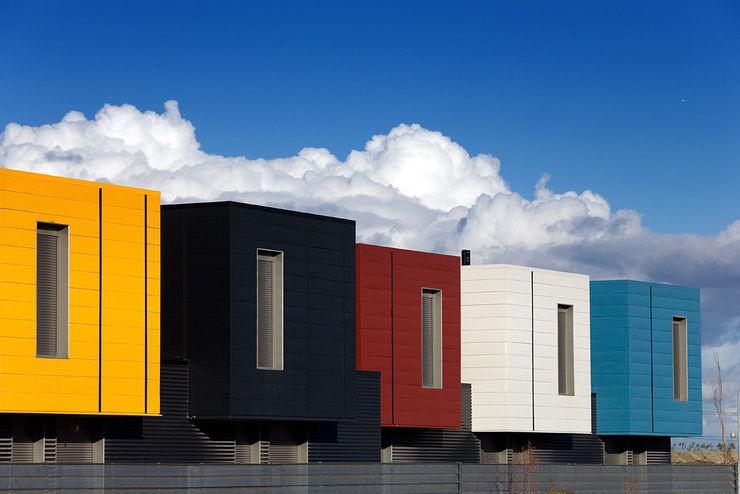 Madrid, nuevas arquitecturas Pedro Cobo, fotografía Casas de estilo moderno