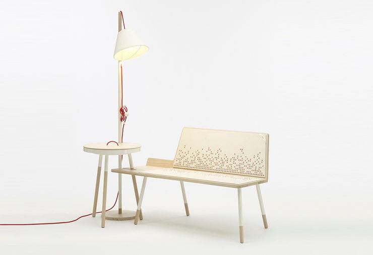 «GINA, MONI & FRANK» Mizko Design Living roomSofas & armchairs