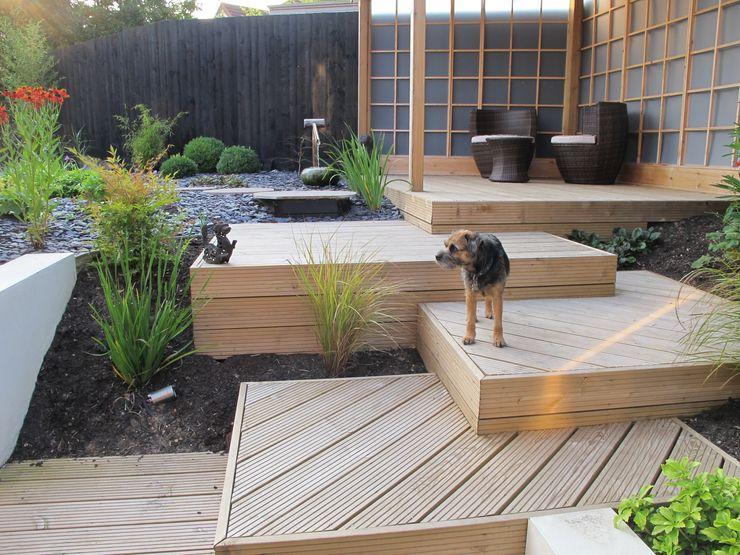 Zen Inspired Garden, Bradley Stoke Katherine Roper Landscape & Garden Design Asian style garden