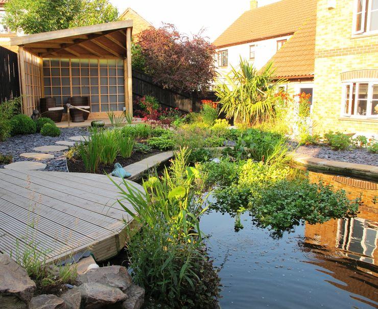 Zen Inspired Garden, Bradley Stoke Katherine Roper Landscape & Garden Design Сад в азиатском стиле