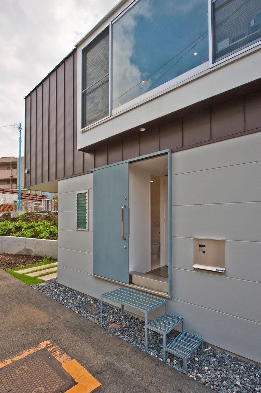 River side house / House in Horinouchi 水石浩太建築設計室/ MIZUISHI Architect Atelier Modern houses