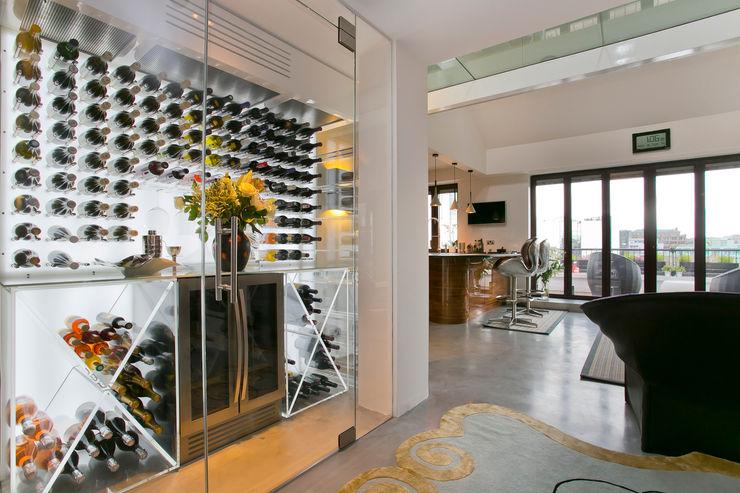 Hallway Temza design and build Wine cellar