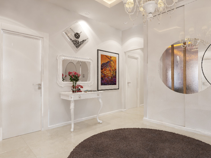 İNDEKSA Mimarlık İç Mimarlık İnşaat Taahüt Ltd.Şti. Eclectic style walls & floors