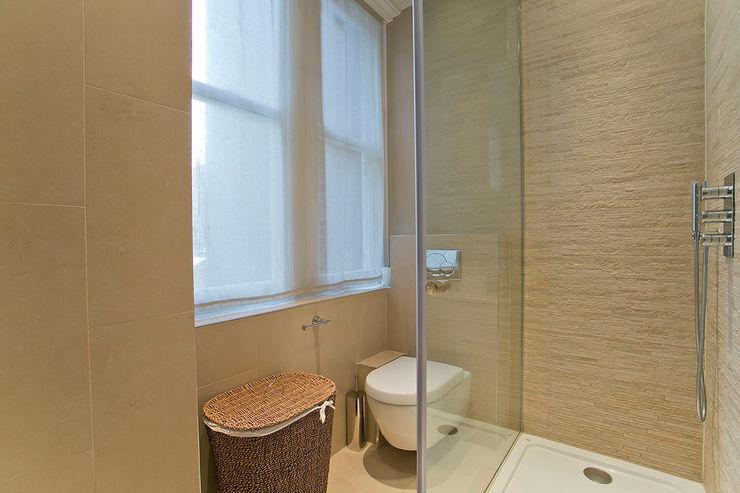 Bathroom 1 view Temza design and build BañosBañeras y duchas