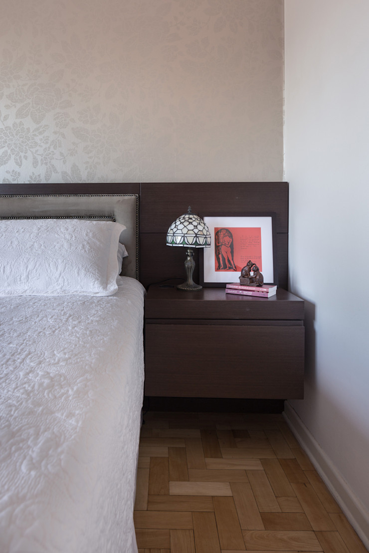 Blacher Arquitetura Eclectic style bedroom