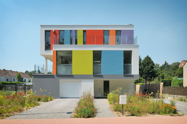 atelier d'architecture FORMa* Modern Houses