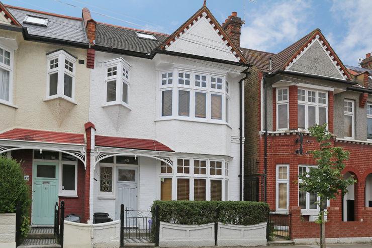 hip to gable loft conversion wimbledon homify Modern houses
