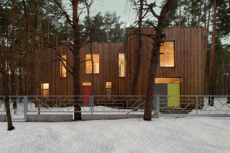 ANONIMOWI ARCHITEKCI Minimalist houses