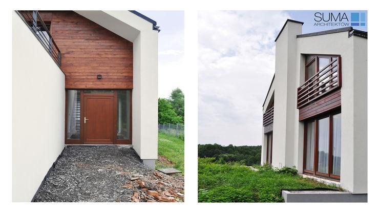 SIMPLE ONE SUMA Architektów Minimalistyczne domy