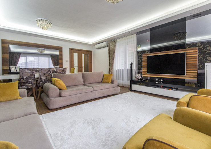 Trabcelona Design Salones de estilo moderno