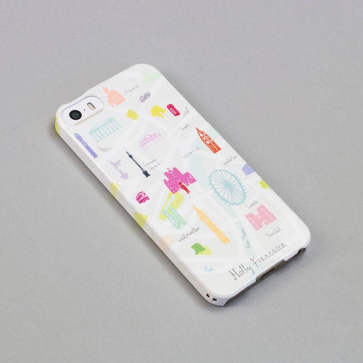 iPhone Case - Map of London Holly Francesca BureauAccessoires & décorations