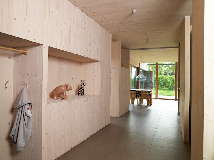 Passiefhuis Witven Thomas Kemme Architecten Scandinavische eetkamers