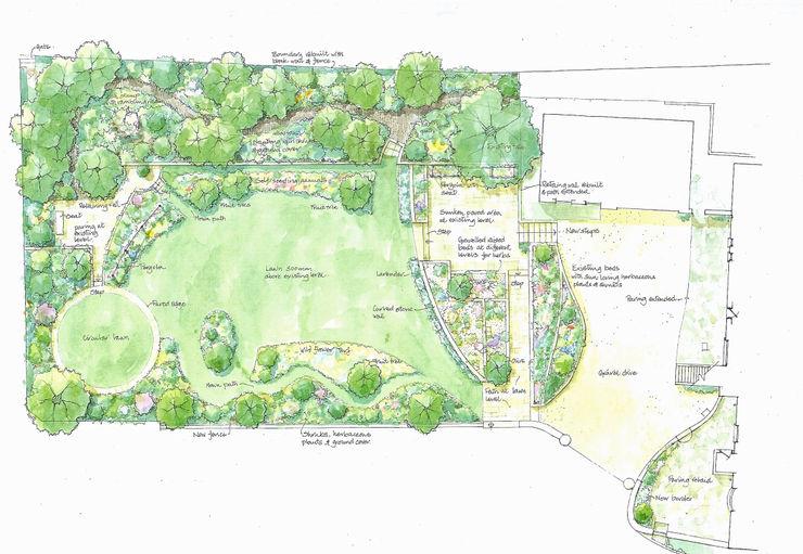 Garden plan Christine Wilson Gardens