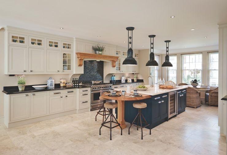 Bespoke Kitchen Reeva Design CozinhaArrumação e despensas