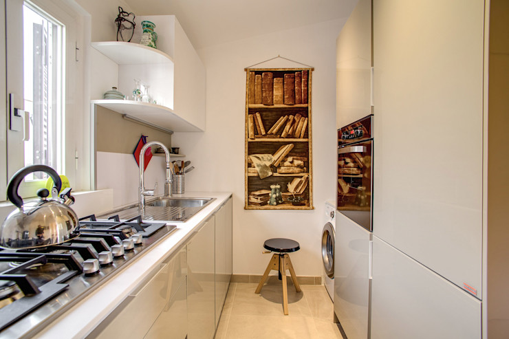 SPAVENTA MOB ARCHITECTS Cucina moderna