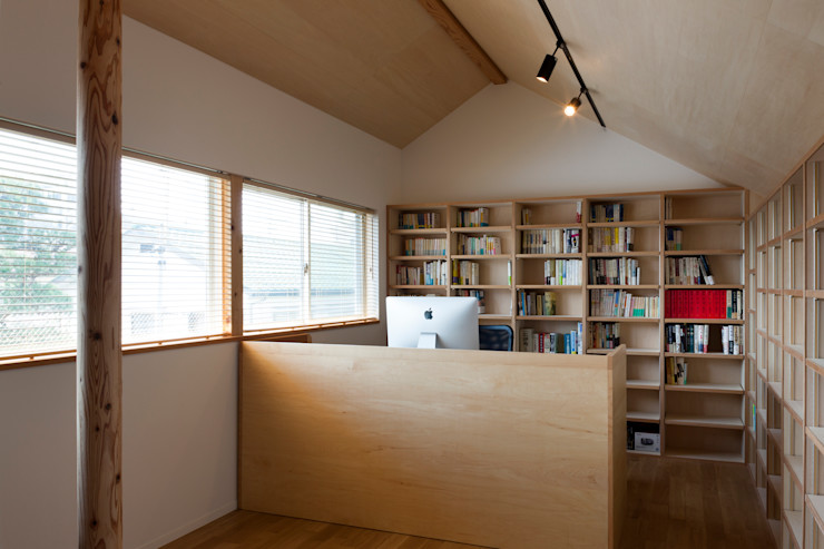 本の部屋 FURUKAWA DESIGN OFFICE モダンデザインの 書斎