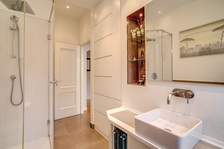 BORGHESE MOB ARCHITECTS Bagno moderno
