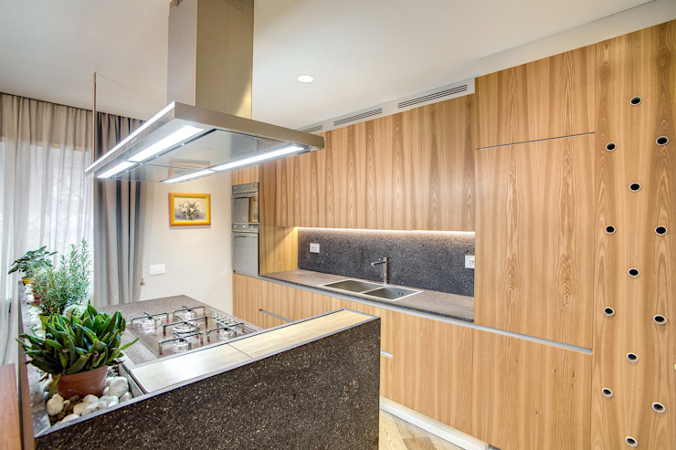 VEGEZIO MOB ARCHITECTS Cucina moderna