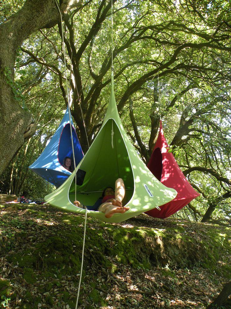Cacoon - Double Hängesessel im Wald Connox GartenSchaukeln und Spielplätze