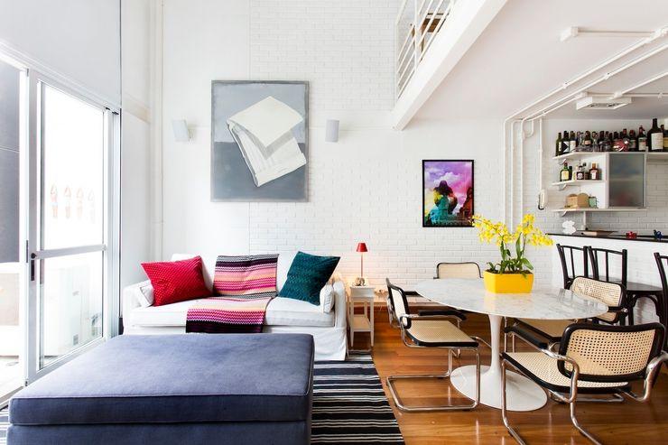 Pereira Reade Interiores Moderne Wohnzimmer