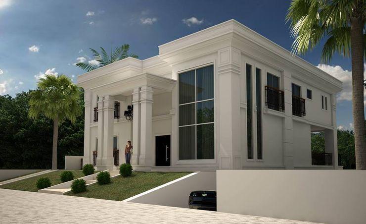 TRAÇO FINAL ARQUITETURA E INTERIORES Classic style houses