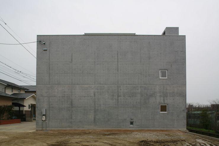 北側外観 白根博紀建築設計事務所 モダンな 家