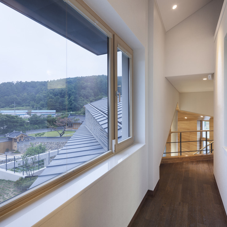 SpaceMGT Modern corridor, hallway & stairs