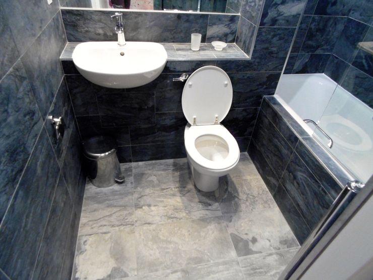 City Centre Apartment, Northern Quarter, Manchester, UK Flawless Concepts Ltd Modern bathroom