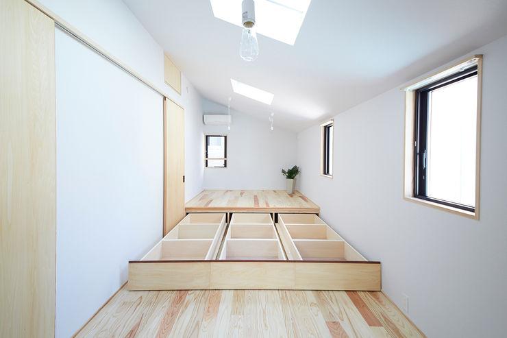 一級建築士事務所co-designstudio Kamar Tidur Modern