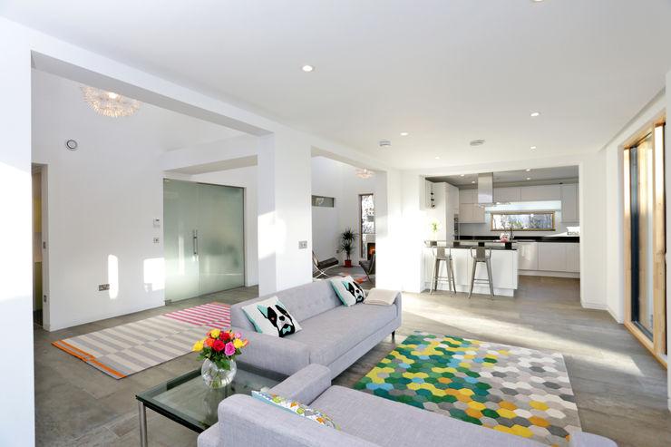 Schoolmasters build different Modern living room