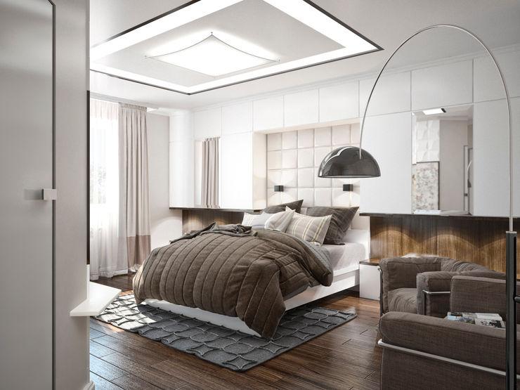 Студия архитектуры и дизайна ДИАЛ Quartos minimalistas