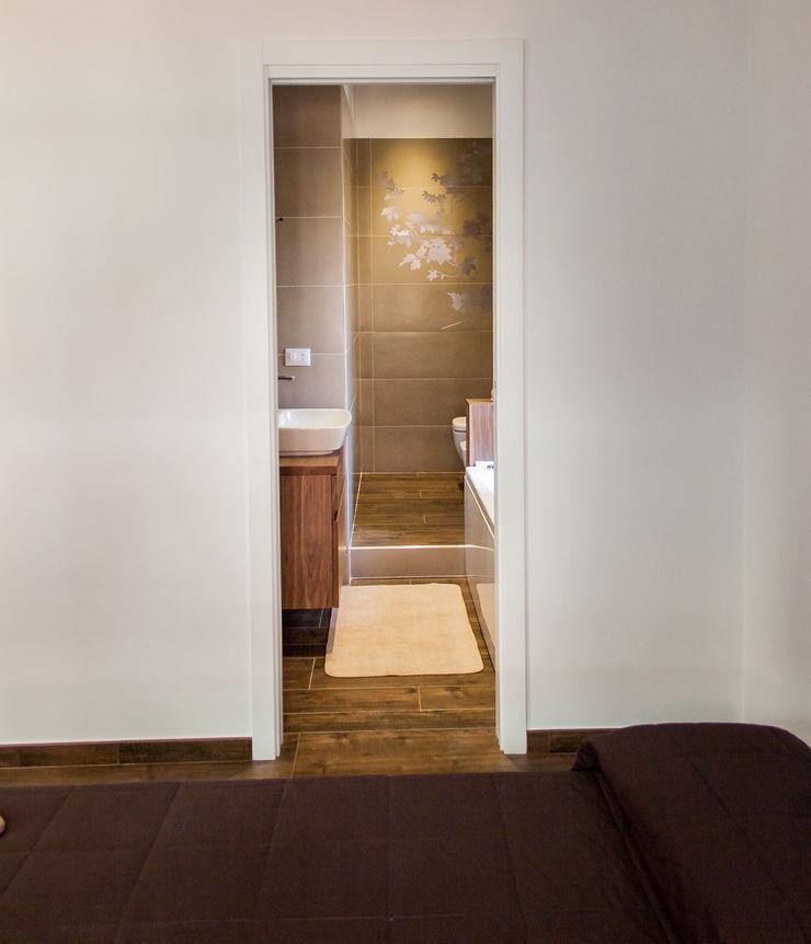 Camera da letto post operam Fluido Design Studio